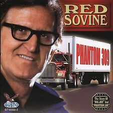 "RED SOVINE, (CD) ""PHANTOM 309""  10 SONGS,  NEW SEALED"