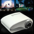 Mini Home Cinema Theater Multimedia LCD Projector HD 1080P USB HDMI VGA TV PC AV