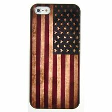 Retro Unique Slim USA National Flag Hard Back Case Cover For iPhone 4 4G 4s at&t