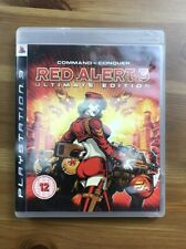 *NO GAME* PS3 COMMAND & CONQUER RED ALERT ULTIMATE EDITION PLAYSTATION 3 PAL