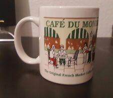 Cafe Du Monde Coffee Mug French Market New Orleans LA Beignets Cup