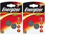 4 Piles Energizer Lithium CR2016 3 V