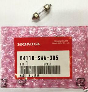 Genuine Honda Dome Light / Map Bulb (T10X31) (8W) 04110-SWA-305
