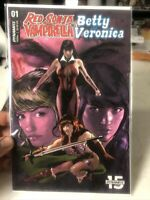 Red Sonja and Vampirella Meets Betty Veronica 1 Variant Near Mint Dynamite HPA