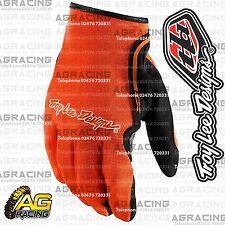 Troy Lee Designs 2016 XC Flo Naranja Carrera Guantes Adulto Medio Motocross Enduro