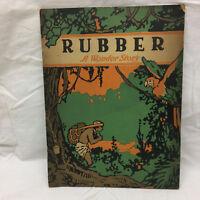 Vintage Book History Rubber A Wonder Story