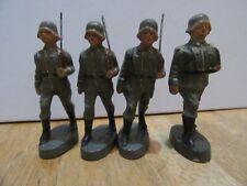 4 Pre WW 2 German Wehrmacht Kienel composition soldiers