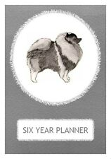 Keeshond Dog Show Six Year Planner/Diary by Curiosity Crafts 2017-2022