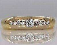 CHRIST 14K-585 Bicolor Diamant Ring mit 0.35ct Diamanten  -  60/19.10mm