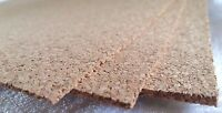 Cork Sheet 900mm x 300mm Track Underlay Roadbed 1.5mm, 2mm or 3mm Thicknesses