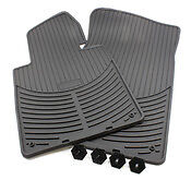 BMW Genuine Rubber Floor Mats for E46 Fronts 1st Row # 82550151192