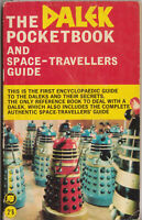 VERY RARE: The Dalek Pocketbook, 1965. GC. Doctor Who. % to charity event!