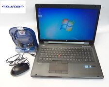 HP Elitebook 8760w i7-2820QM 8 GB RAM 500 GB HDD Webkam Fingerprint  AZERTY (FR)