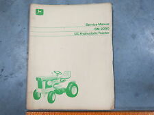 John Deere 120 Lawn Garden Patio Tractor Technical Service Manual Sm-2090 1970