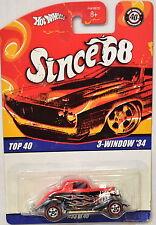 HOT WHEELS SINCE 68 TOP 40 3 - WINDOW '34 #33 OF 40