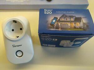 Sonoff S20 WiFi Smart Steckdose Alexa Kompatibel, bereits mit Tasmota geflashed!