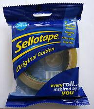 Sellotape Golden Original Tape 24mm x 50m Blister Pack (3 packs)
