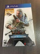 New The Witcher Wild Hunt Hearts of Stone Expansion Pack - Gwent Card Game PS4