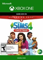THE SIMS 4 CATS AND DOGS XBOX ONE key