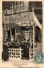CPA FOIRE DE PARIS 1906 Un Comptoir (700557)