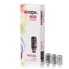 88 Vape Pen Coil 50W MOD E-Cigarette Replacement Coils Pack Of 3 Multi Discount