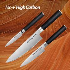 Samura MO-V 3-teiliges Küchenmesser-Set aus hartem, japanischem Edelstahl