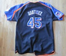 Nice VTG New York Mets Nike Stitched Pedro Martinez Jersey Youth large