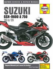 Haynes Suzuki GSX-R600 & 750 Repair Manual (2006-2009) HAYM4790