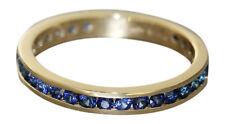 Memoryring Ring Gold 585 Saphir Goldring 14 Karat Damenring Bandring