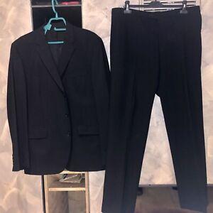 Costume Homme 2 Pièces Jules Veste 56 Pantalon 48. Noir