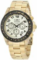 Invicta Speedway Quartz Movement Gold Dial Men's Watches 10703