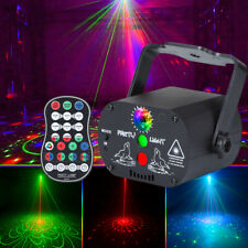 90 Muster Muster RG Laserlicht DJ Projektor Disco RGB LED Beleuchtung Home Party