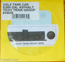 Tichy Train Group #10039 Decal for: CDLX 8,000-Gallon Asphalt Tank Car