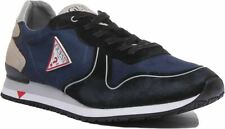Guess Fm8Nwgfab12 New Glory Lace Up Casual Trainer In Blue Size Uk 6 - 12