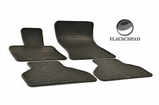 Original Lengenfelder Gummimatten passend für BMW E70 X5 +Halter Gummi Fußmatten