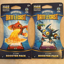 Activision - Skylanders Battlecast: 8-Card Booster Pack NEW LOT OF 2