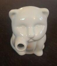Sur la Table Small White Ceramic Cat Cream Pitcher 2 oz. Paw Spout