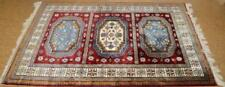 Bokhara Oriental Rug with Gul Medallions Lot 10G