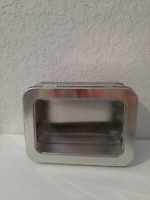 10 Small metal tin boxes