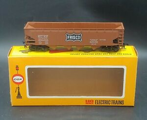 Cox HO scale: FRISCO HOPPER CAR SL-SF #91795 . VINTAGE, BROWN