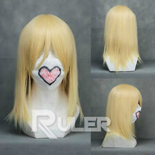 Hetalia Axis Powers Felix Lukasiewicz /Kingdom Hearts Namine Cosplay Wig 026B