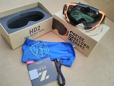 NEW Zeal Optics HD2 Camera Goggles Blaze Camo/Dark Grey