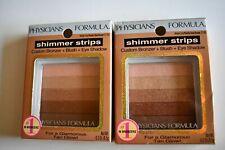 Physicians Formula Shimmer Strips Waikiki Peachy Glow Bronzer 2745 Pack of 2