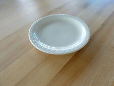 "Syracuse China Econo-Rim 6-3/8"" Plate - White Undecorated (951250338) (Dozen)"