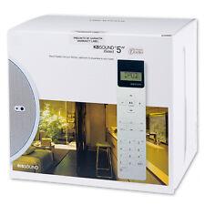 """KB Sound 5"""" iSelect DAB 2 x 20W In Ceiling Kitchen Bathroom Radio"""