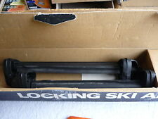 ROLA ROOF RACK LOCKING SKI ARMS SL2 ONLY $75 12 Months WARRANTY holds 2prs Skies