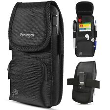 iPhone 8 Plus 7 6s Holster With ZIPPER Storage and Credit Card Pocket
