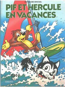 Pif poche spécial : Pif et Hercule en vacances, juillet 1981, imprimé en Hongrie