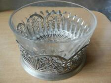 FILIGREE Melchior Soviet Russian Candy. VINTAGE Sweets dishes