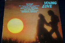 YOUNG LOVE LP  ORIGINAL HIT'S ORIGINAL ARTISTS 20 GREAT SOUND'S  MGM STEREO
